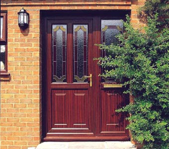 woodgrain upvc doors