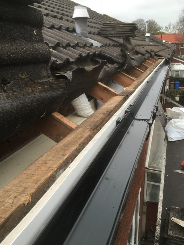 Upvc Roofline  Wythenshaw